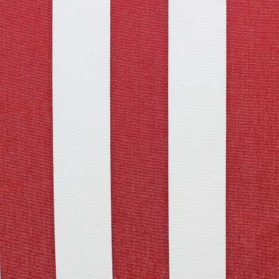 stripes bordeaux et white outdoor fabric