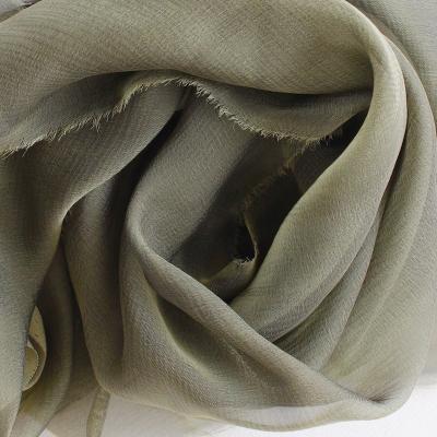 Mousseline de soie changeante
